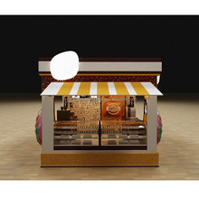 Fashion Design mall wooden coffee booth for sale