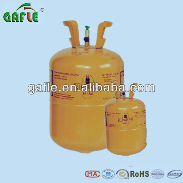 Gas Refrigerant R600A with high purity