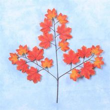 Hot sale no irritation stylish delicate artificial fake maple leaves