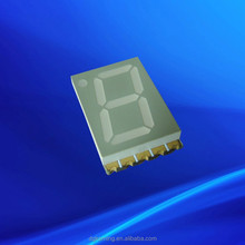 ODM 1 digit red 0.39 inch seven segment smd display 7-segment smd 0.39""