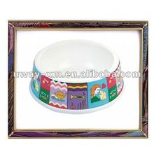 2012 new design non-toxic melamine hamster bowl ,rabbit bowl,cat bowl