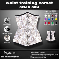 factory price hot sale white sexy corset gothic punk clothing
