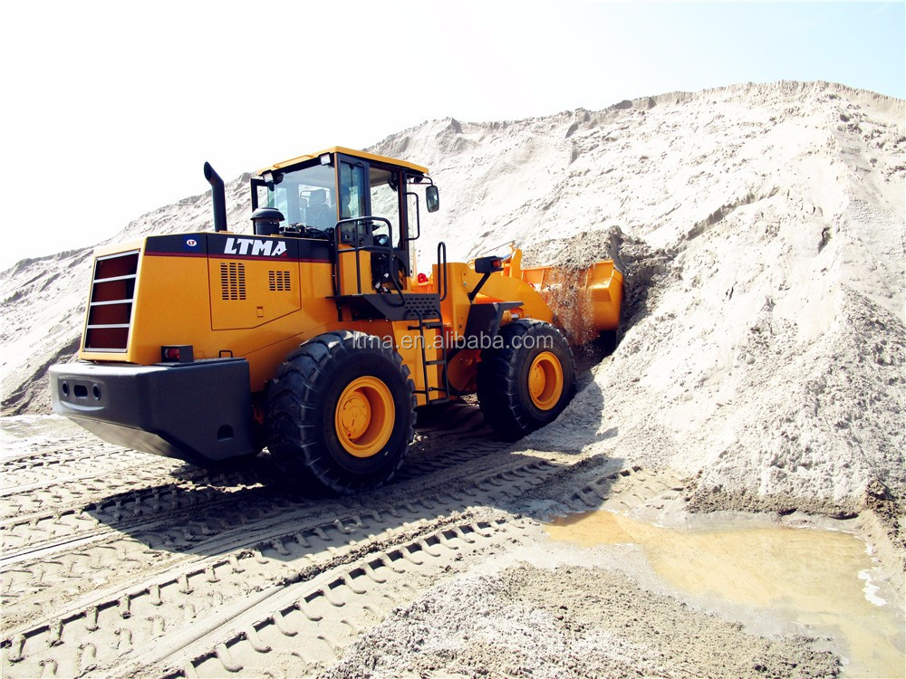 Heavy construction equipment new 5 ton wheel loader price for sale