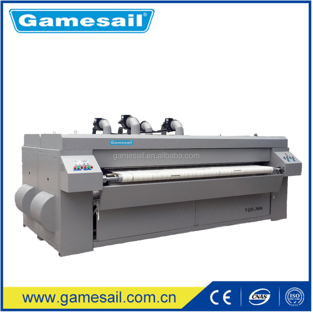 Electric, Gas, LPG, Steam, 2500mm Tablecloth iron machine (Bedsheet, Quilt Cover, Textile, Table Cloth ironing machine)