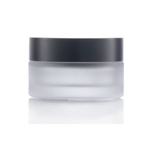 Wholesale Cylinder Empty Cream <strong>Jar</strong> Frosted <strong>Glass</strong> Cream <strong>Jar</strong> 50g Luxury Cosmetic Packaging Container Bottle
