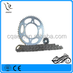 High Quantity And Cheap Price Motorcycle Chain Sprocket Kit 428H-122L 48Z-14Z For YAMAHA XTZ 125