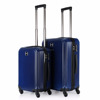 luxury abs/pc luggage set with waterproof luggage covers