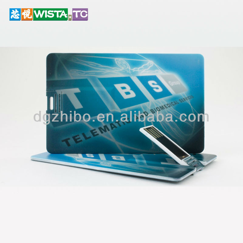 Hot sale custom logo credit card usb , promotional gifts usb card , usb business card 1gb-16gb
