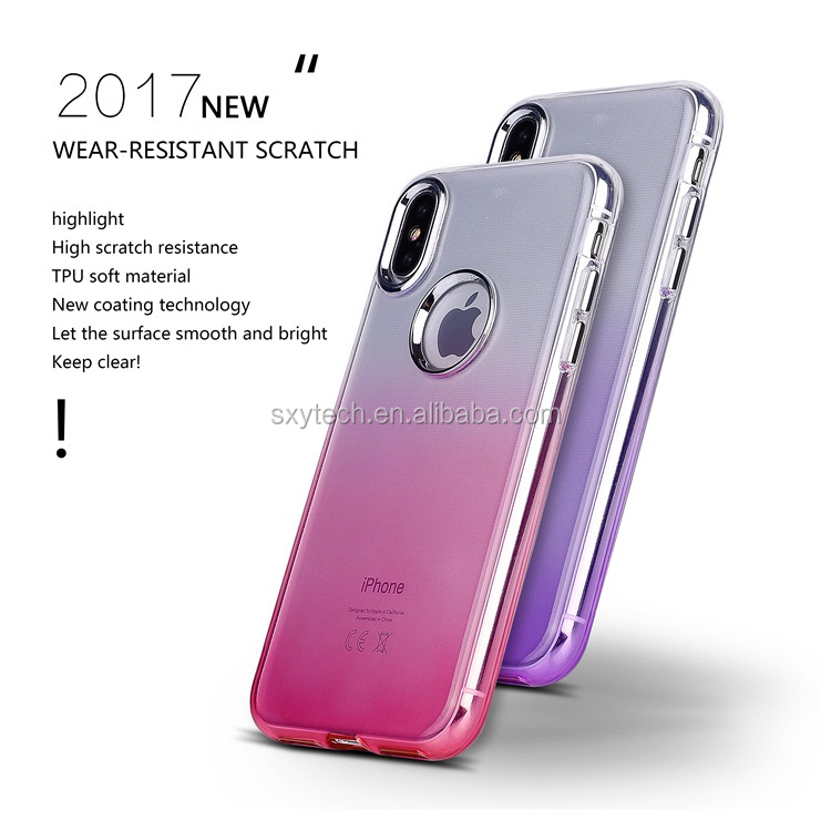 2017 Luxury case Wholesale phone accessories mobile case phone case cover for iphoneX