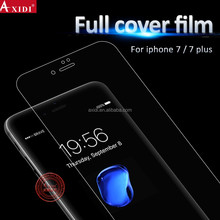 Hot selling!! full cover 3D tpu mobile phone screen protector for iphone 7 / 7 plus