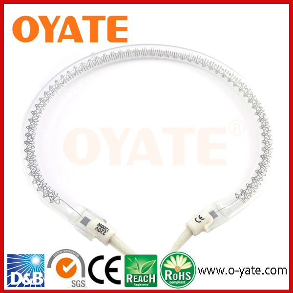 clear halogen heating tube for microwave oven
