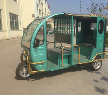 Electric auto rickshaw in Bangladesh tricycle for passengers