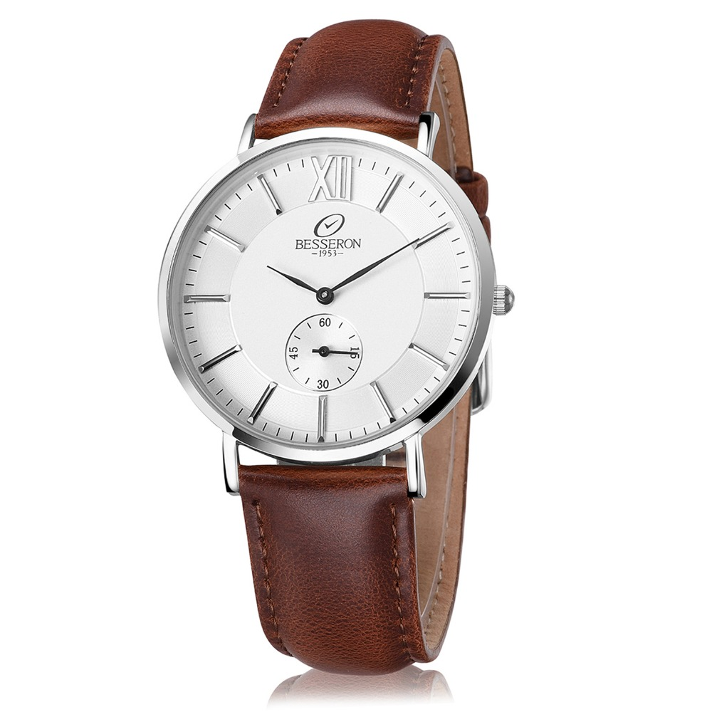 Luxury watches japan movt quartz 316L stainless steel case back bangle minimalist men watches