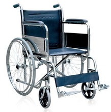 manual wheelchair with solid wheel caster
