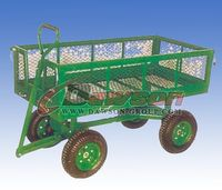 Quality Garden Tool Cart TC1851 Heavy duty Four wheels Steel Mesh,China supplier