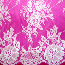 Cheap French lace /raschel lace fabric for Wedding dress from China