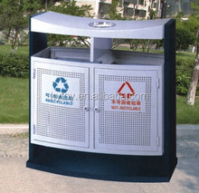Hot sale stainless steel dustbin perforated,steel dustbin