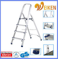 WK-AL204 Domestic Ladders Type and Step Ladders Structure ladder household essential kitchen commodity organizer shelf