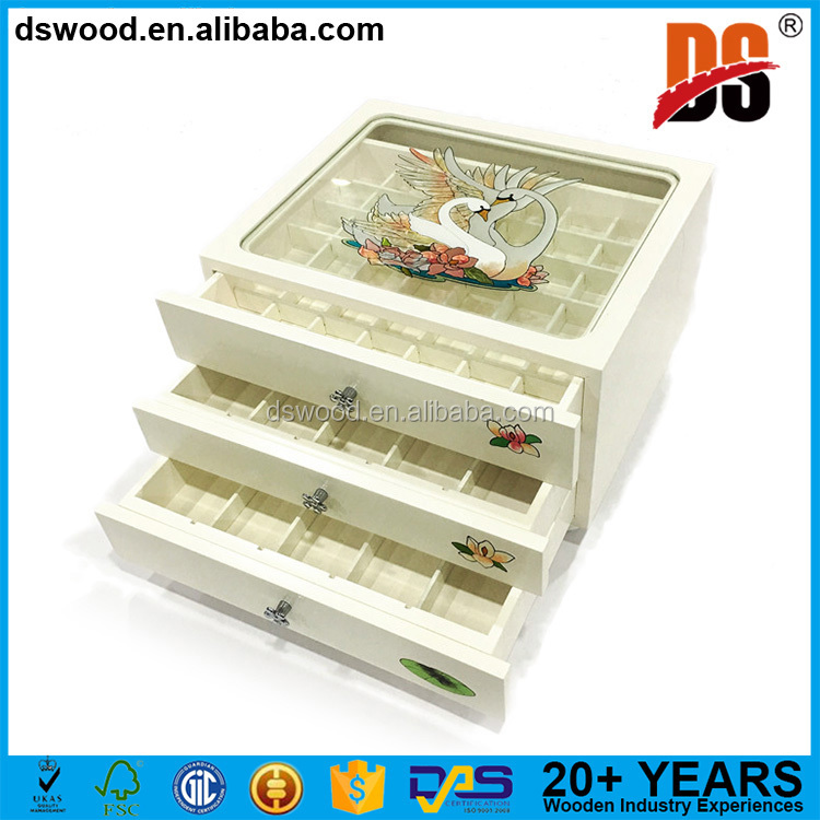 China manufacturer jewelry box jcpenney