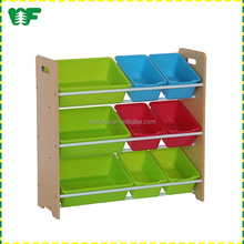 Kid's wooden storage containers, modern-design storage box for sale