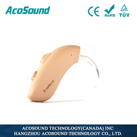 China AcoSound Acomate 420 BTE CE TUV ISO Proved Cheap Hearing Aids Deaf Equipment