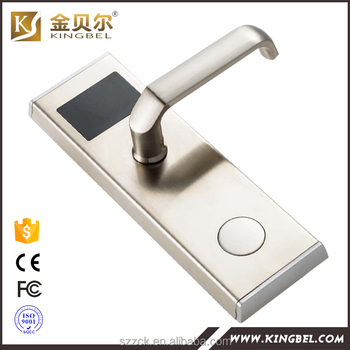 Intelligent remote control digital automatic hotel door lock system for hotel door lock