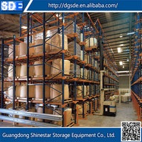 Hot sale top quality best price heavy duty warehouse storage gravity live pallet racks