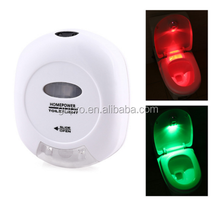New hot LED Sensor Motion Activated Toilet Light Bathroom Flush Toilet Lamp Battery-Operated Night Light Free Shipping