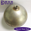Decorative ball nut 3mm float hollow metal ball