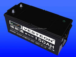 12v 120ah car battery motor battery for turkey market