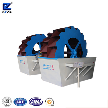 Top Capacity Sand Washer Sand Washing Machine For Sand Production Line