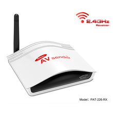 Smart 2.4GHz RC Wireless A/V senders,Tv Transmitter, STB TV Transmitter and Receiver with IR Remote