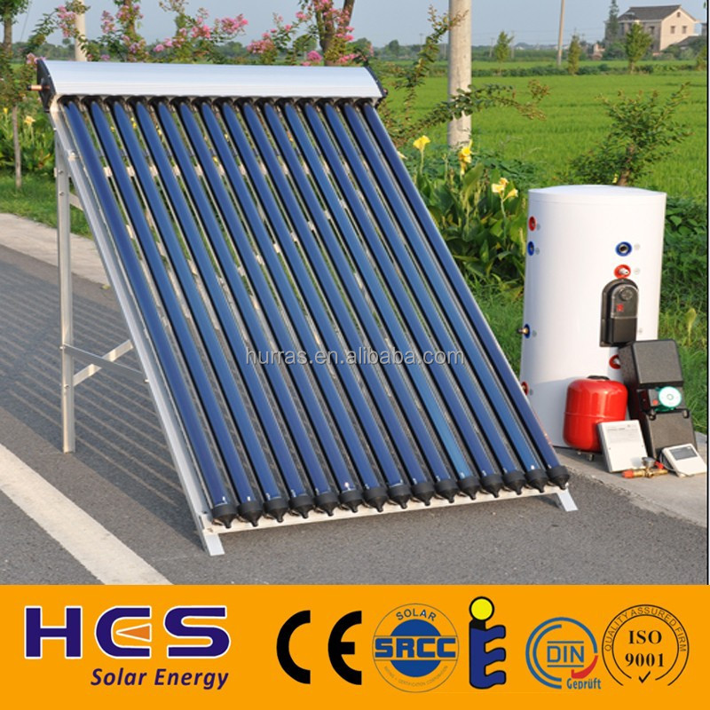 2015 Good Quality Vacuum Tube Solar Water Heater System