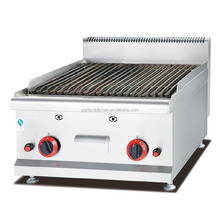 Commercial Table Top Gas Lava Rock Grill for Gas BBQ griller
