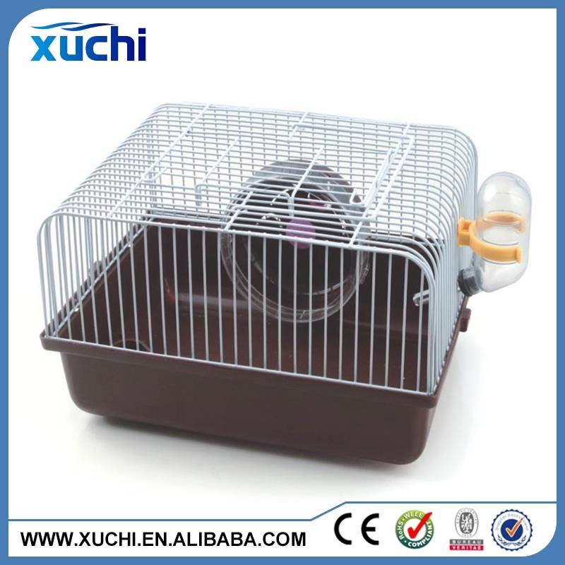 Pet Supplier Pet Accessories hamster woodem cage with good quality