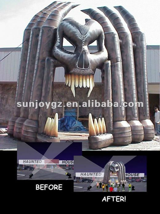 2013 giant halloween inflatables