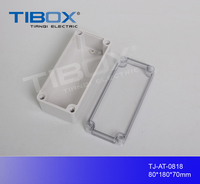 Waterproof and dustproof ABS/PC made electrical enclosure