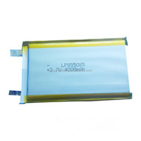 855085 4000mAh 3.7v Li-polymer battery >500times lifecycle Rechargeable battery