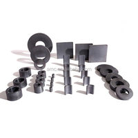 Y30/35 Ceramic Rings/Permanent/Hard Ferrite Magnets for Speakers, Used for DC Motors