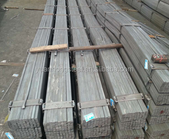 Hig qualty falt steel bars with ASTM DIN JIS Standard from mill