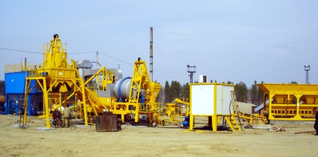QLBY-15, 15t/h Mobile Bitumen Mixing Plant