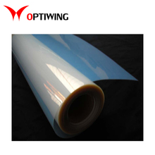 Suitable for water-based inkjet printer and related digital application PET film