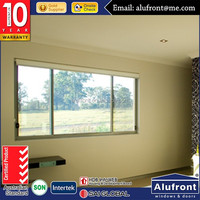Interior sliding window/Aluminium double glazed windows and doors comply with Australian standards