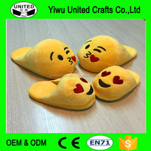 New Funny Emoji Cartoon Plush House Slippers expression slipper Emoji Shoes