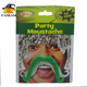 Factory Wholesale Adhesive Green Party Decoration Fake Mustache