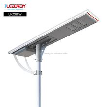 80W Solar Street LED Light with Pole Diameter 80-86mm