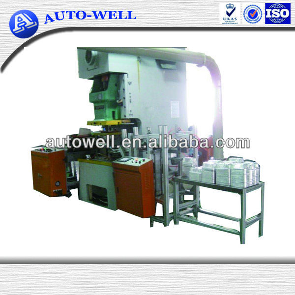 Aluminum Foil Dessert Plate Making Machine