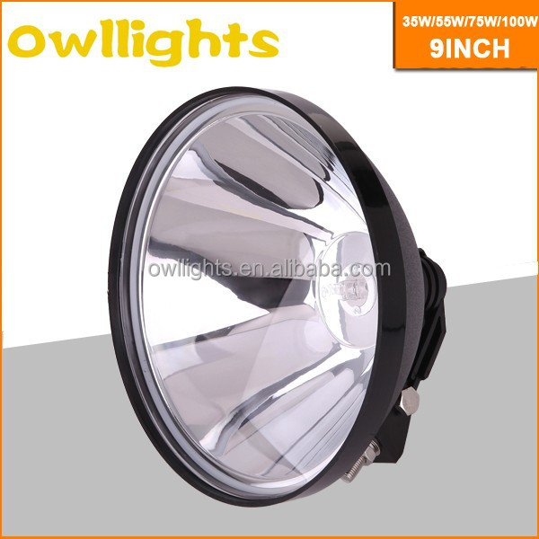 35w 55w 75w 4x4 Off Road top quality best selling 9 inch HID Driving Light, HID Driving Lamp