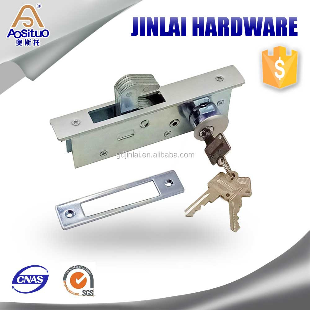 China Factory Aluminum door window accessories/Sliding door hook lock