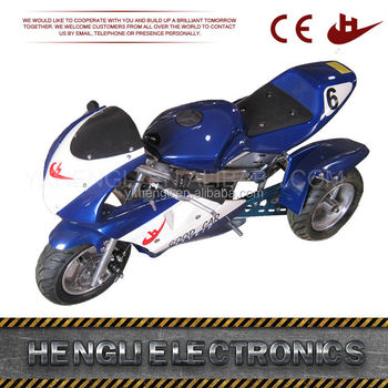 Special design widely used 3 wheels pocket bike